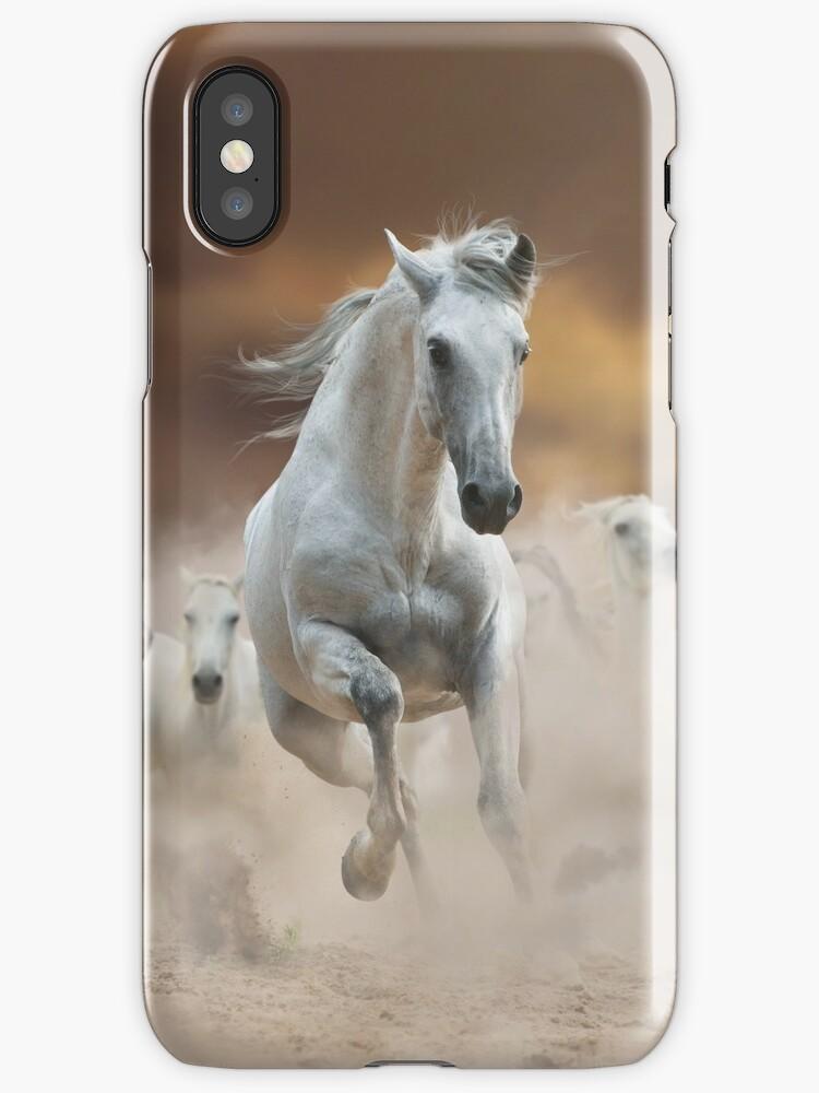 White spanish horses by marusya1