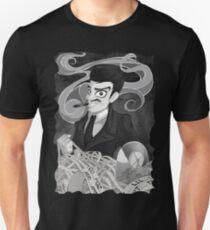 Gomez Addams- Black and White version Unisex T-Shirt