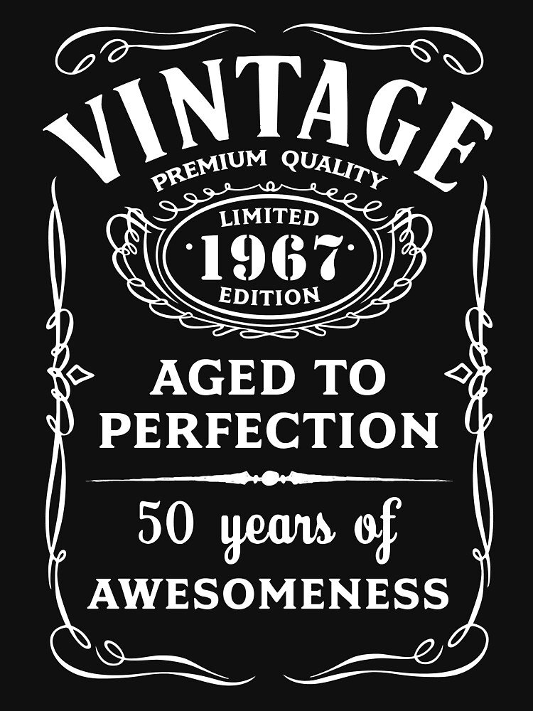 Vintage Limited 1967 Edition - 50th Birthday Gift | Unisex T-Shirt