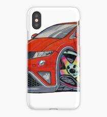 Honda Civic Neochrome Wheels iPhone Case/Skin