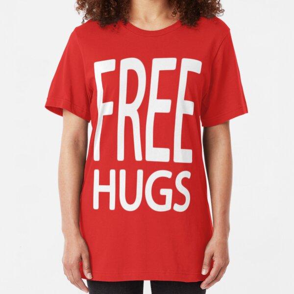 FREE HUGS Comedy SNL Just Say No LONGSLEEVE T-SHIRT