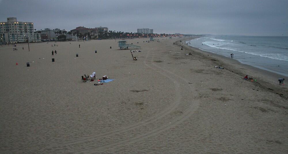 Santa Monica Beach by Francis Alfred