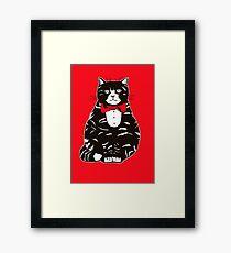 Mr Monty Framed Print