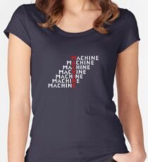 Machine Women's Fitted Scoop T-Shirt