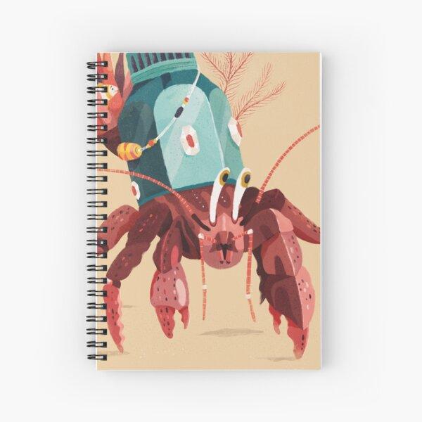 Hermit crab Spiral Notebook