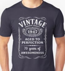 Vintage Limited 1947 Edition - 70th Birthday Gift T-Shirt