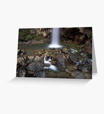 Taranaki falls - NZ Greeting Card