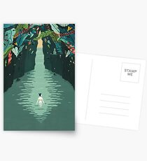 Cave swim Postcards