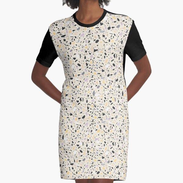 Terrazzo Graphic T-Shirt Dress