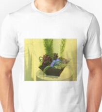 Still Life with Blue Fluff Unisex T-Shirt