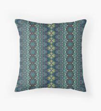 Vintage tribal aztec pattern Throw Pillow