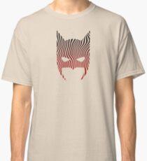 Bat Mask Man - Superhero Comic Inspired Classic T-Shirt