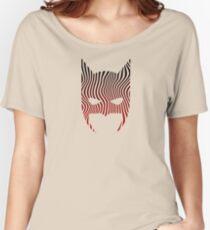 Bat Mask Man - Superhero Comic Inspired Women's Relaxed Fit T-Shirt