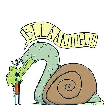 A Spewing Snail. by MrBradd