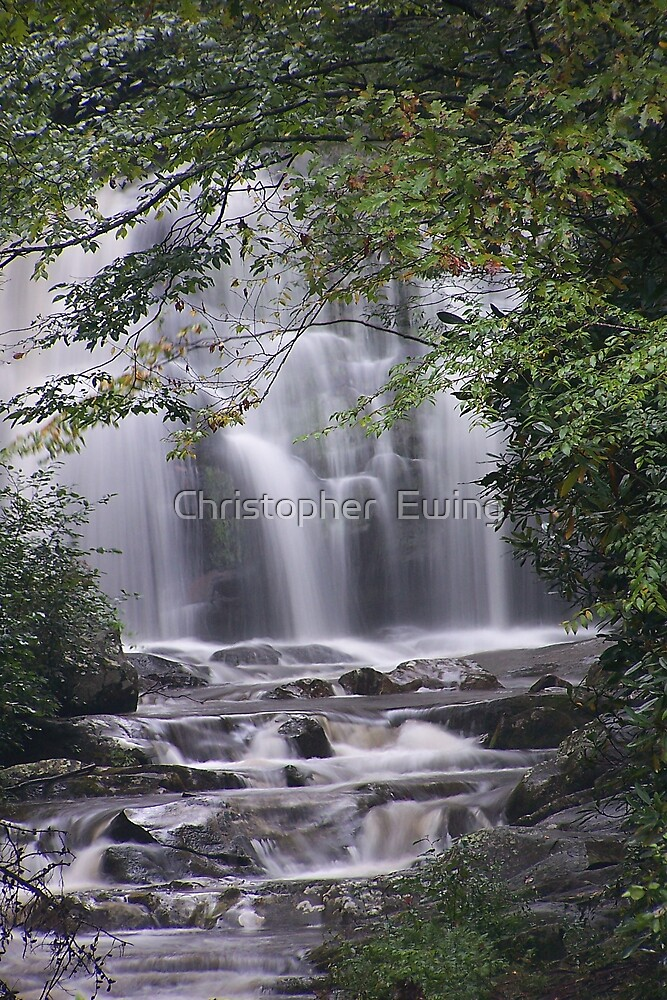 Meig's Falls by Christopher  Ewing