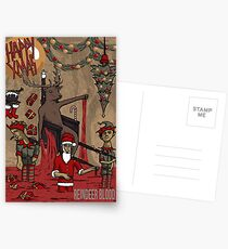 Reindeer Blood Postcards