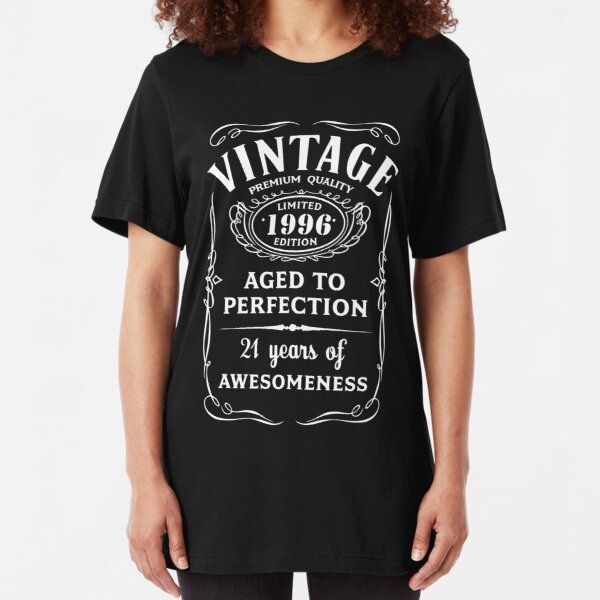 21st BIRTHDAY Legend Since 1998 T-shirt Present vintage Son Brother 21 years old