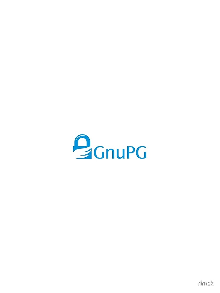 Gnu GPG Crypto Text Logo by rimek