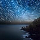 Star Trails over Botallack Mine by Matt Stansfield