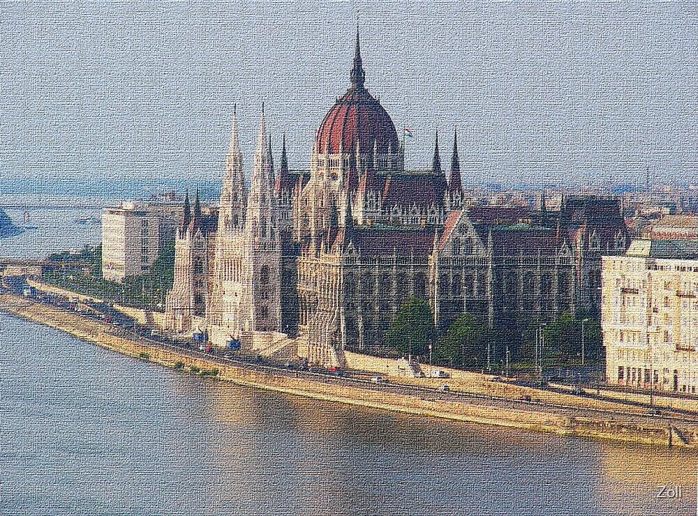 Hungarian Parliament by Zoli