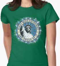 Right Wing Extremist Womens Fitted T-Shirt