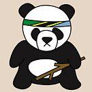 Tanzanian Battle Panda by Xavier Shay