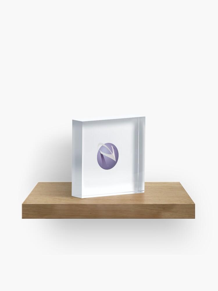 Spacemacs Logo | Acrylic Block