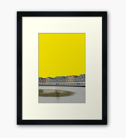 Houten Framed Print