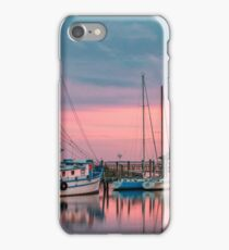 Marina Sunset iPhone Case/Skin