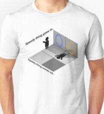 Portal momentum Unisex T-Shirt