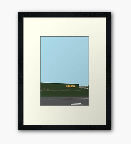 ikea highway Framed Print