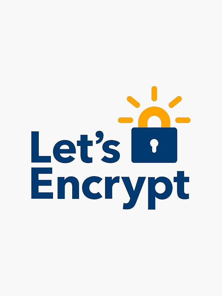 Let's encrypt sticker by rimek