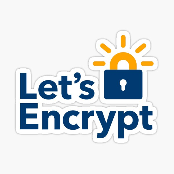 Let's encrypt sticker Sticker