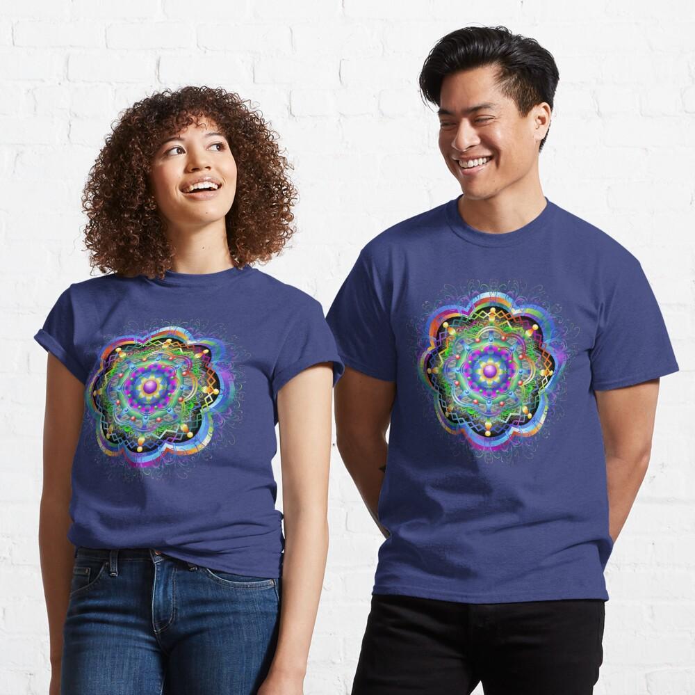 Mandala Universe Psychedelic  Classic T-Shirt