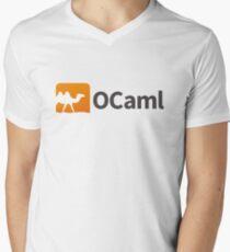 Ocaml logo Men's V-Neck T-Shirt