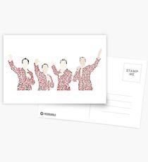 Jersey Boys Postcards