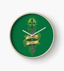 Brave Hero Clock