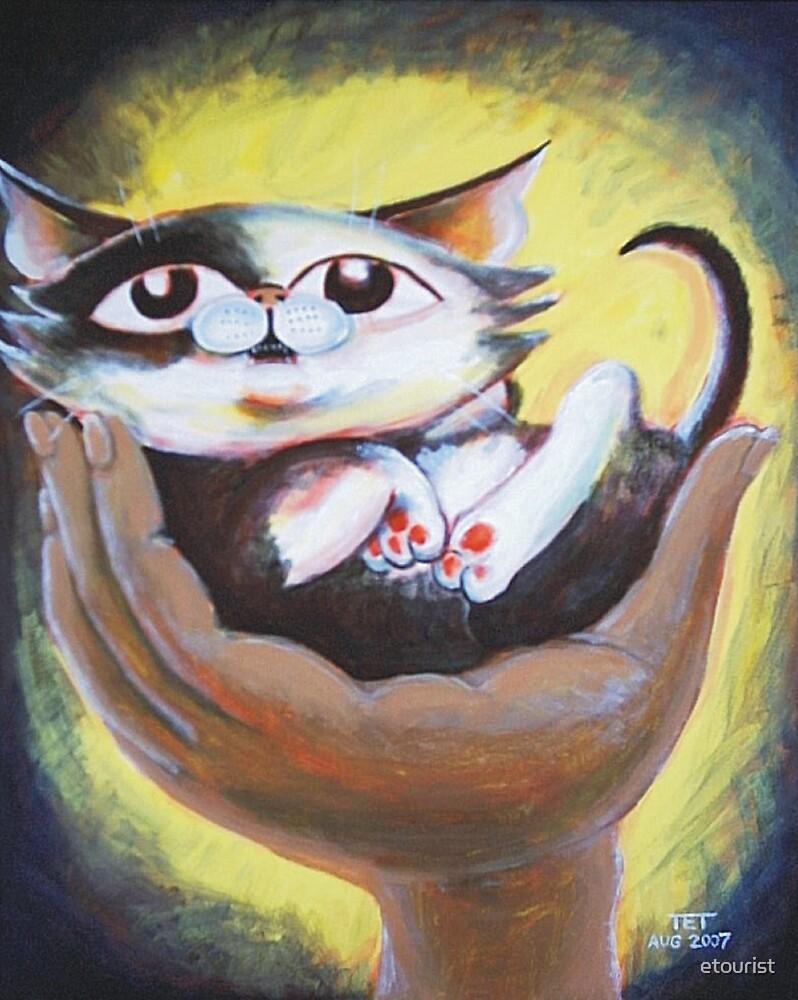 Tumbles the Kitten - Art by TET by etourist