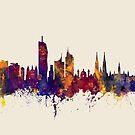 Vienna Austria Skyline by Michael Tompsett
