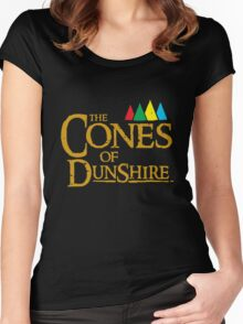 The Cones of Dunshire Women's Fitted Scoop T-Shirt