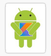 Android kotlin logo Sticker