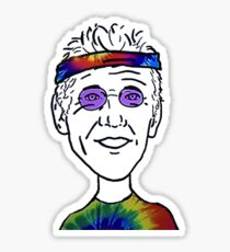 Bill Walton Basketball Guy Sticker