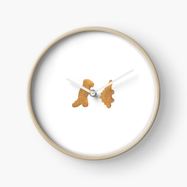 Dino Nuggets Clock