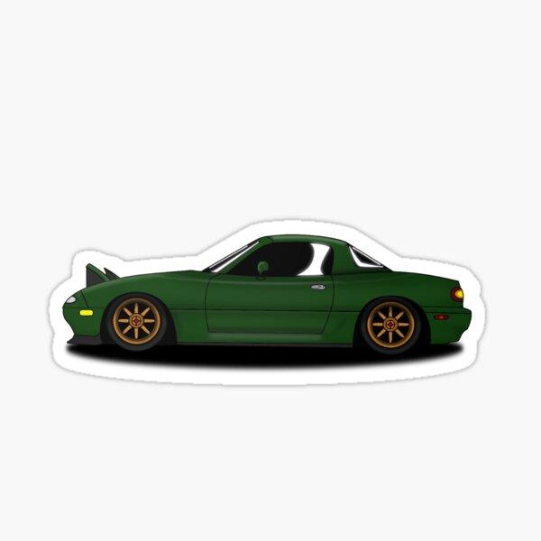 miata vert 2 Sticker