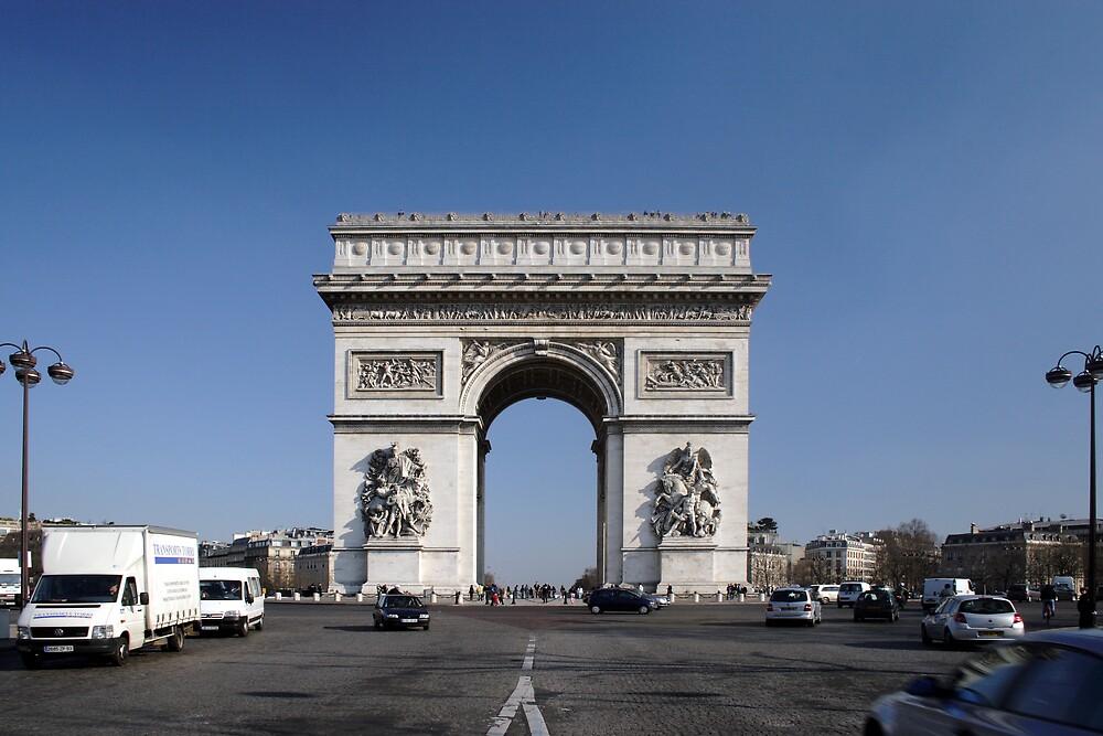 Arch De Triumph by Adrian Richardson