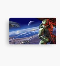 Halo Master Chief Poster Canvas Print
