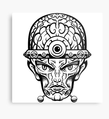 Eye Don't Mind Metal Print