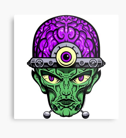 Eye Don't Mind - Full Color Jacket remix Metal Print