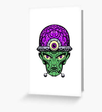 Eye Don't Mind - Full Color Jacket remix Greeting Card