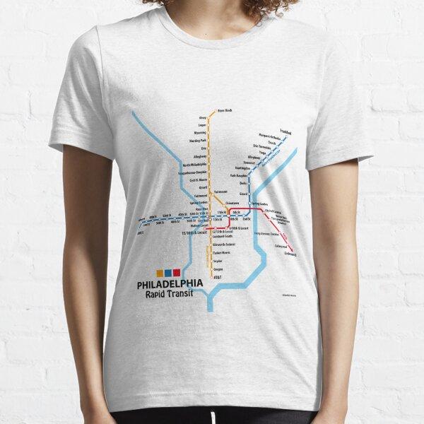 PHILADELPHIA Rapid Transit Network Essential T-Shirt